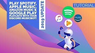 HOWTO | PLAY SPOTIFY, APPLE MUSIC & MORE WITH DISCORD MUSICBOT! | ENGLISH