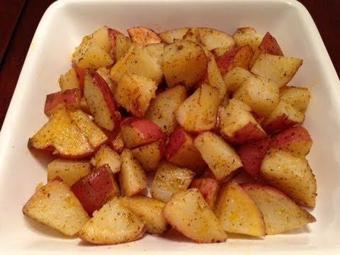 Oven Roasted Seasoned Potatoes