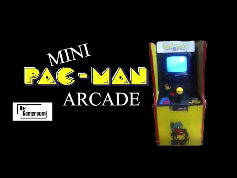 The Gameroom | Mini Pac-Man Arcade Machine | CUSTOM BUILT