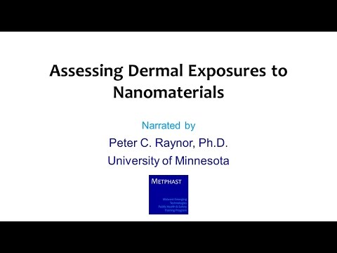Module 13: Assessing Dermal Exposures to Nanomaterials