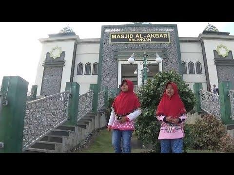 Pergi Ke Masjid Al akbar Paringin Bersama Reva Dan Keluarga