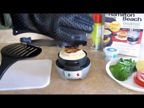 Breakfast Sandwich Maker Hamilton Beach