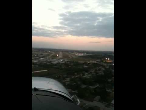 Approach for Pagefield airport, Fort Myers