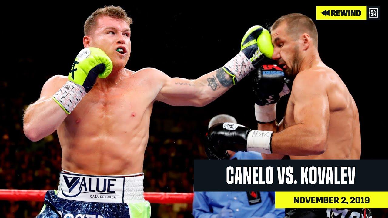 FULL FIGHT   Canelo vs. Sergey Kovalev (DAZN REWIND)