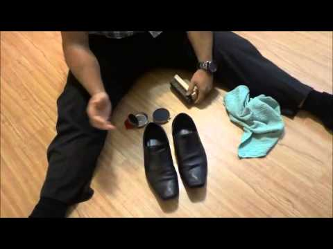 How To Polish Shoes EASILY (Get Rid Of Those Scuff Marks)