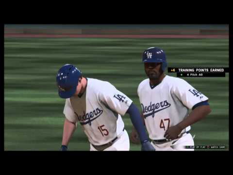 MLB The Show 16 John Lane RTTS Legend difficulty!!! Traded to the Dodgers
