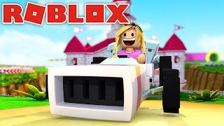 LITTLE KELLY GETS A RACE CAR! Roblox