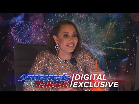 Mel B: Does She Really Know What's Going On At The Judge Desk? - America's Got Talent 2017