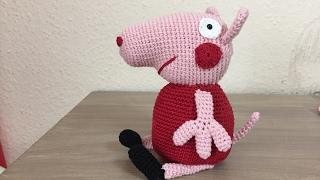 Tutorial Peppa Pig Amigurumi in English | Lanas y Ovillos in ... | 180x320