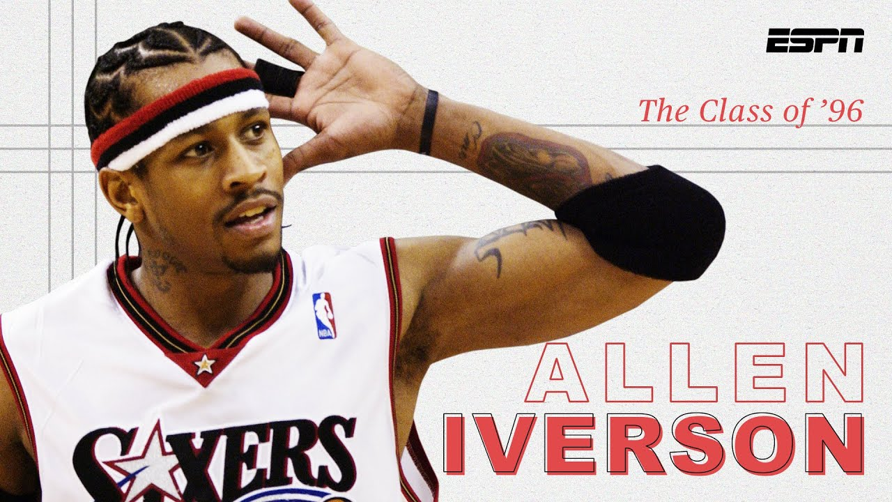Allen Iverson was a ruthless ankle breaker and a revolutionary cultural icon | The Class of '96