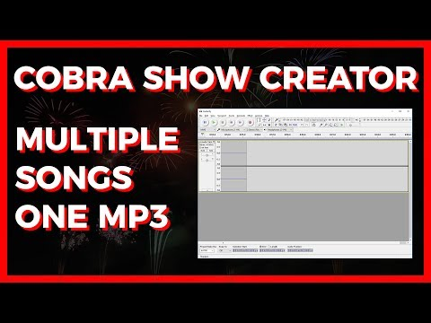 COBRA Show Creator: Combining Multiple MP3 Files