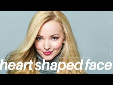⏏༟GET A HEART SHAPED FACE IN 10 MINUTES SUBLIMINAL - Beautiful Face