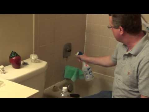 Cleaning with Vinegar - Vinegar Shower Cleaner