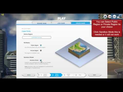 SimCity 5 2013 How To Get Unlimited Money