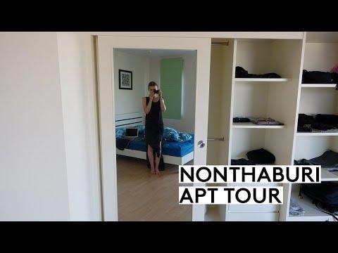NONTHABURI AIRBNB APARTMENT TOUR  | THAILAND FOR 1 MONTH