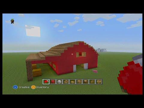 Easy Minecraft Barn Tutorial