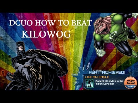 DC Universe Online:  HOW TO BEAT KILOWOG