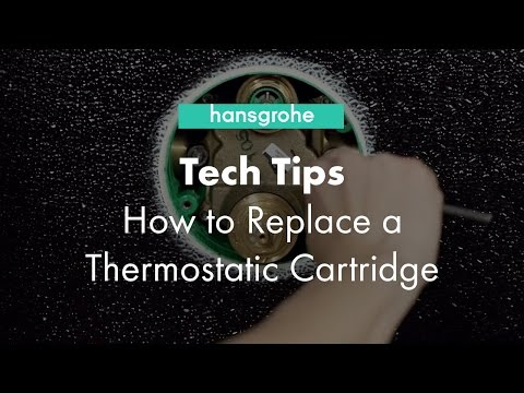 Hansgrohe Tech Tips: How to Clean Thermostatic Cartridge