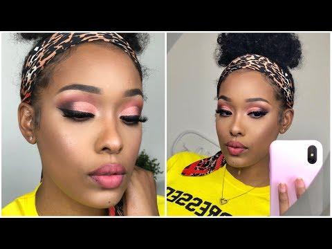 EASY | Rose Gold Cut Crease Eye | TALK THROUGH | FabulousBre