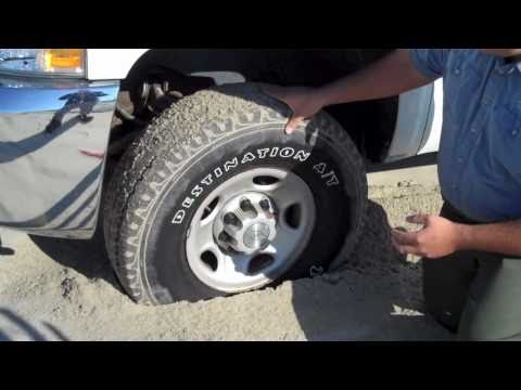 Why Do I Need to Lower my Tire Pressure? Outer Banks 4x4