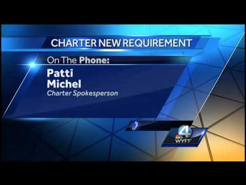 Charter now requires a cable box to receive a signal