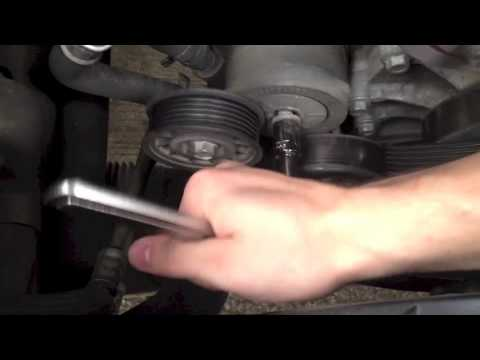 Jeep Liberty Belt Tensioner Replacement