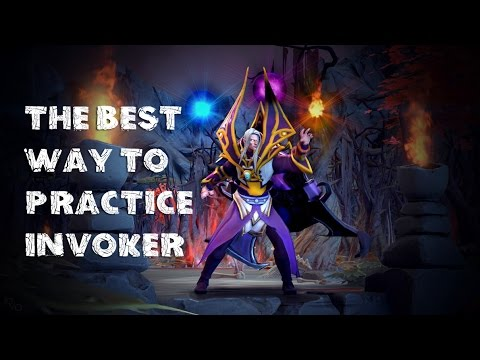 The Best Way to Practice Invoker | How To Play Dota 2 | PVGNA.com