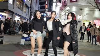 2019년12월14일클락팀 신촌버스킹(3)