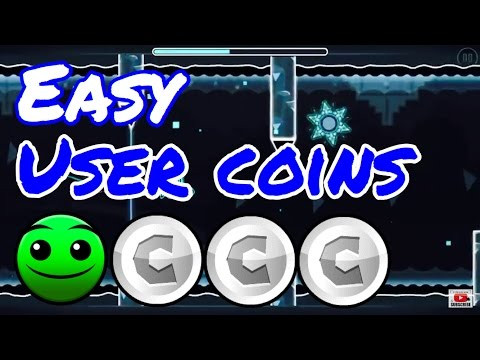 Easy User Coins |Geometry dash 2.1|