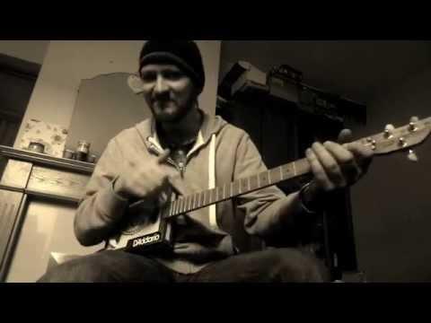 Led Zeppelin Kashmir on Cigar box guitar cbg Now with TAB link