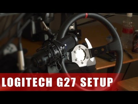 Logitech G920 Hydro Handbrake And Upgraded Wheel And Quick Release
