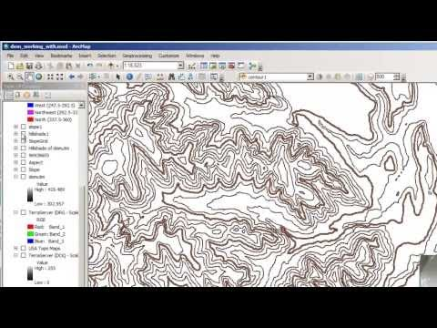 Using Contour with Barriers to Symbolize Contour Lines in ArcGIS