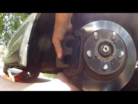Subaru Outback Brake Pad Replacement