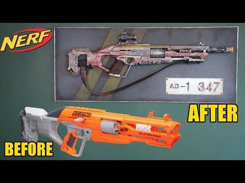 Nerf Alphahawk Rifle Makeover- Chris' Custom Collectables!
