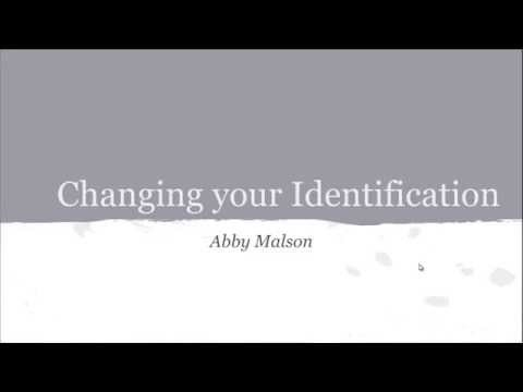 How to change your identification in Wake County, NC