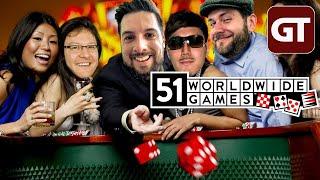 KLASSISCHE SPIELE - mit klasse Typen: 51 Worldwide Games (Werbung): GT LIVE