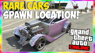 Gta Rare Secret Cars Free Customized Muscle Cars Spawn