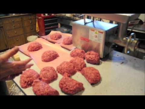 Wrapping Deer Burger how to