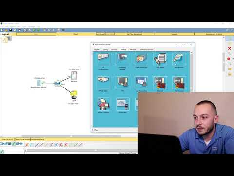 Setting up IOT in Cisco Packet Tracer - Registration Server