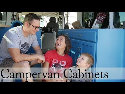 How to build a Campervan: Part 10 - Cabinet Install