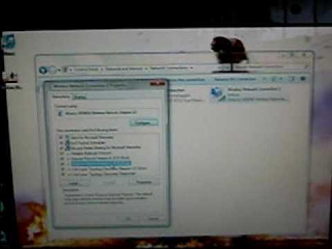 Windows 7 wireless internet setup
