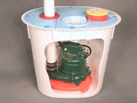 SmartSump and SmartPipe for crawlspace drainage