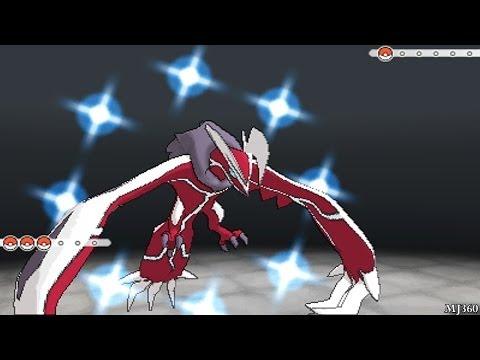 Pokemon X & Y: Shiny Yveltal, Shiny Xerneas, and Shiny Zygarde