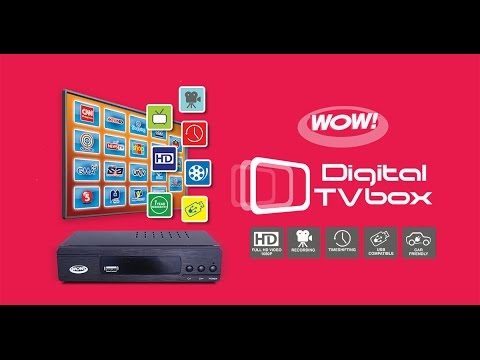 New and Improved! WOW Digital TV Box