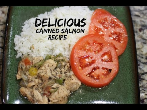 HOW TO MAKE CANNED SALMON | The Jamaican Mother