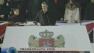 Mikheil Saakashvili's Inauguration-20.01.2008.Part 1