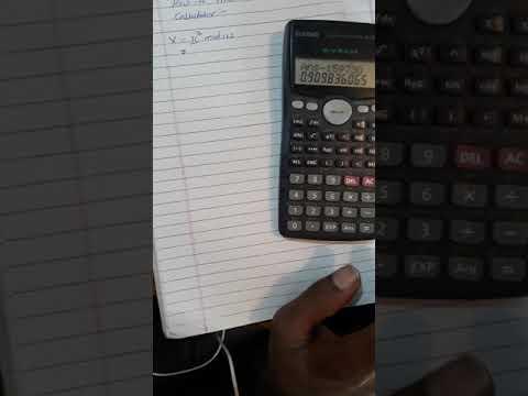 Calculating reminder of large number