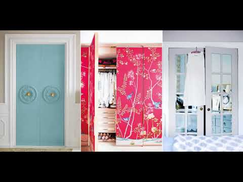 🔝 Closet Door Ideas DIY Sliding With Curtain For Small Bedroom Makeover Installation Repair 2018