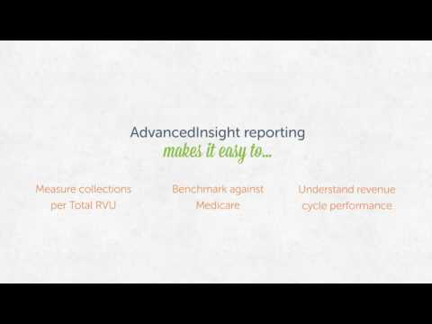 Collections per Total RVU (the ultimate revenue cycle metric) with AdvancedInsight™