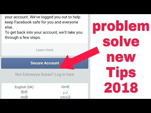 How to open facebook secure account 2018 new Tips